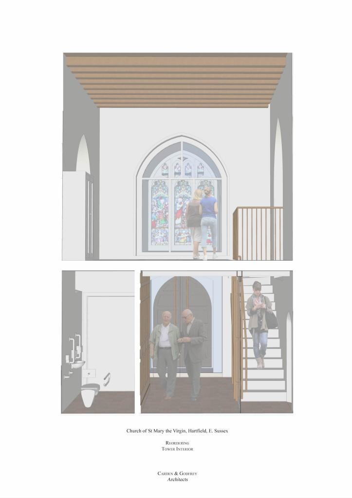 Hartfield Church view 3a